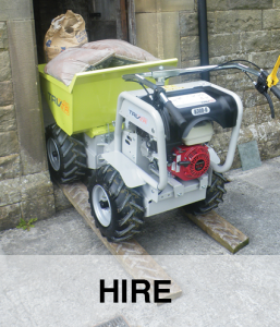Hire App - mini dumpers