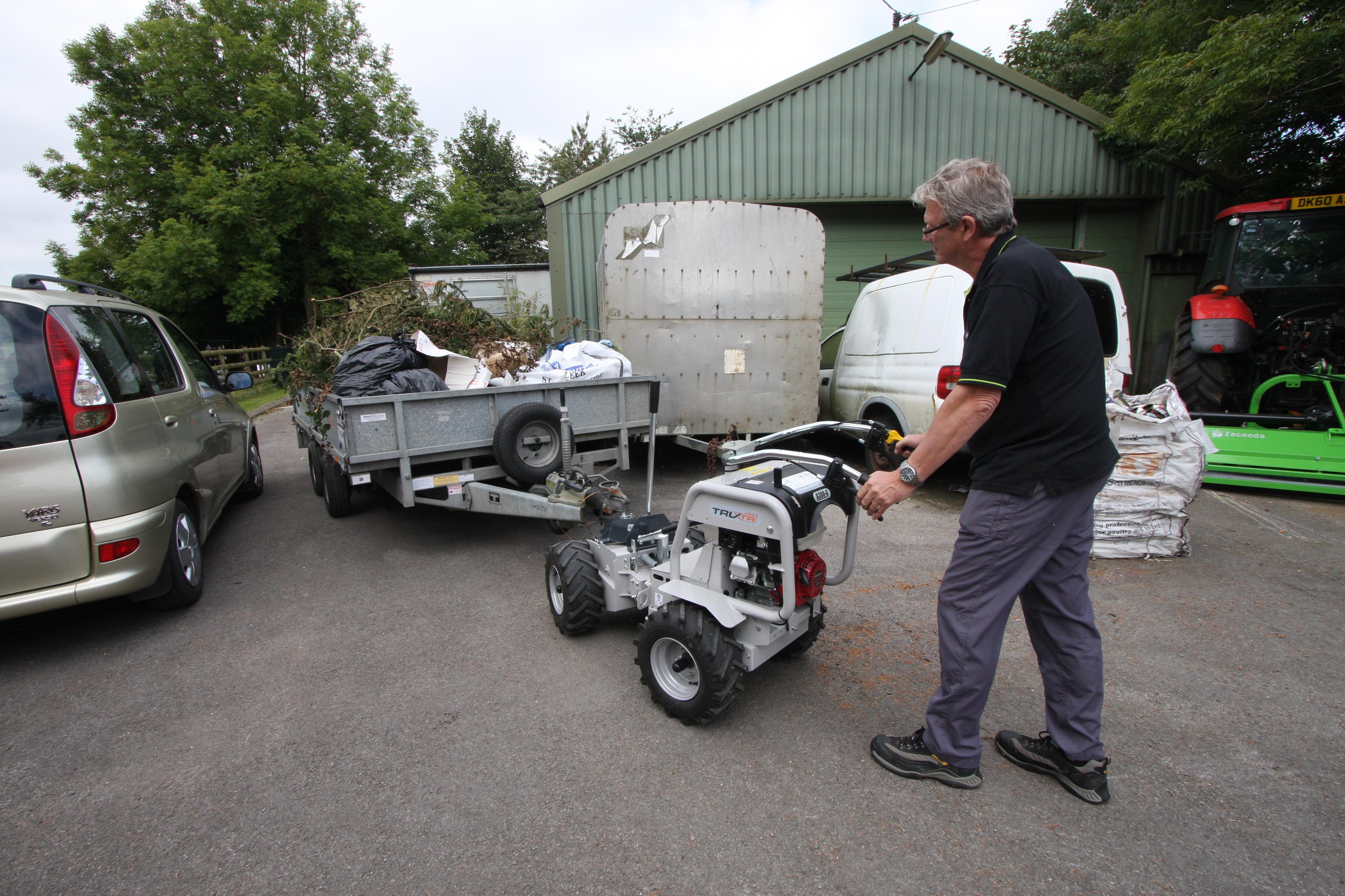 trailer mini dumper 2020