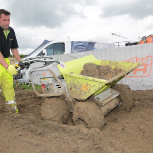 Built for heavy duty ground conditions