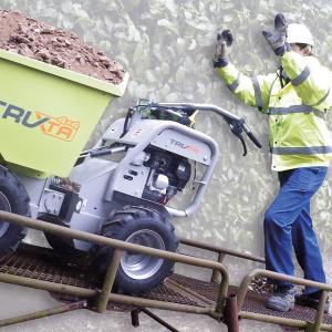 Truxta on Ramp full load- ffail-safe braking