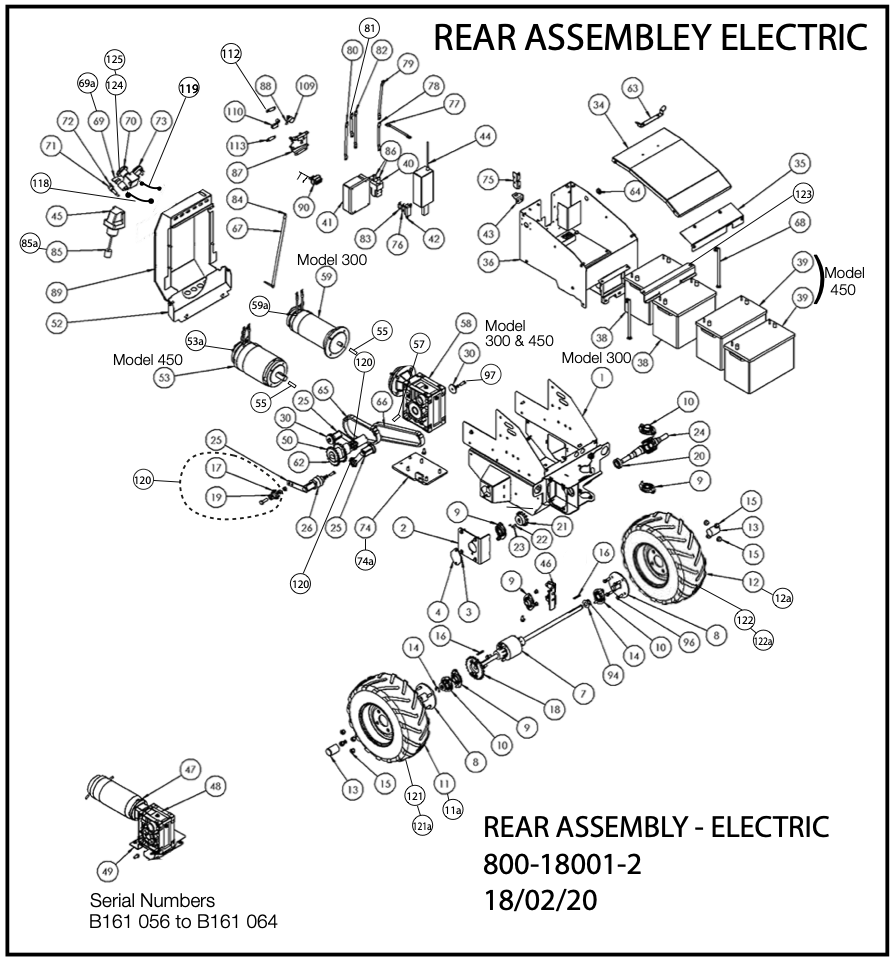 Rear Assembly Electric