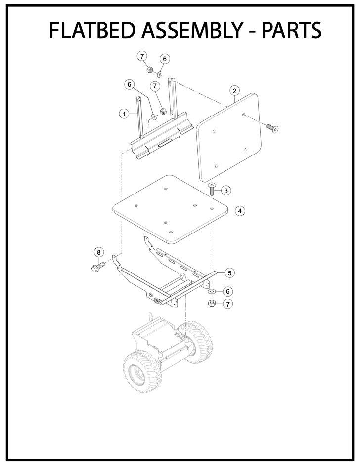 Flatbed Assembly Parts