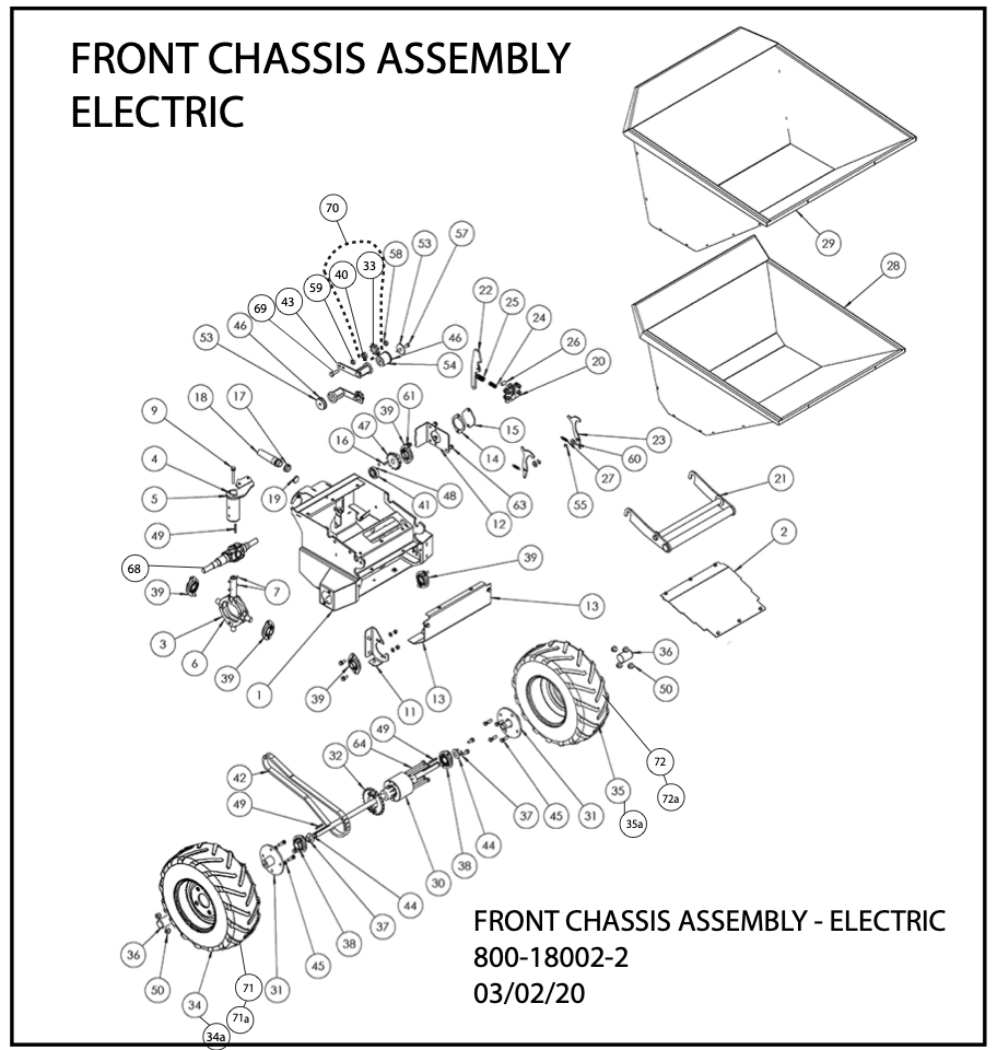 Front Chassis Assembly Electric