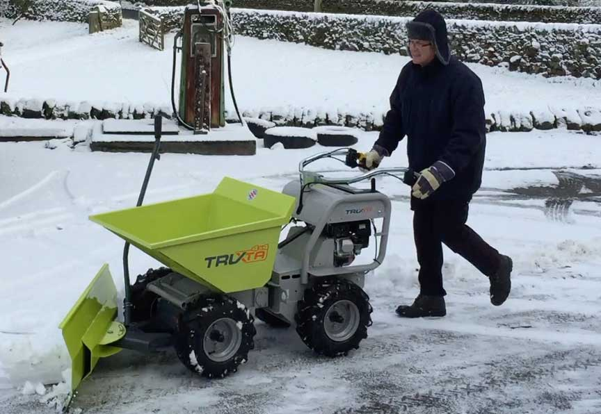Truxta Snow Plough Attachment